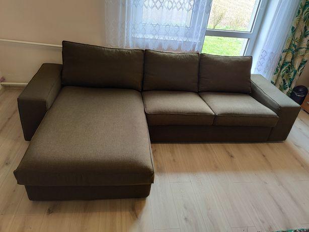 Kanapa IKEA KIVIK 3 osobowa sofa z szezlongiem, narożnik