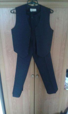 Garnitur ubranie komunijne spodnie kamizelka