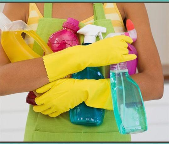 Качественная уборка домов, квартир, офисов , баз, отелей.