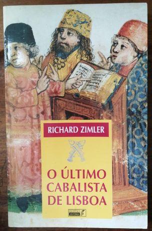 o último cabalista de lisboa, richard zimler, 1996