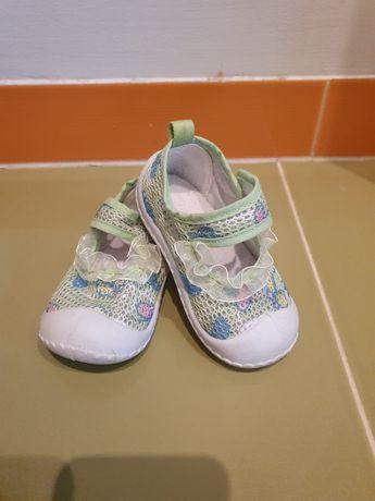 Śliczne buciki/paputki dla dziewczynki rozm 20