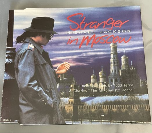 Michael Jackson - Stranger In Moscow (CD maxy single)