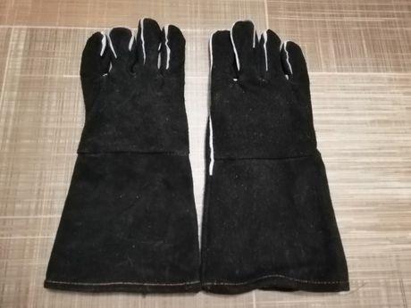 Перчатки  рукавицы сварочные