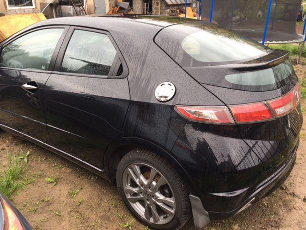 Honda Civic VIII Ufo 2009 - Drzwi prawe Tył Kod Koloru nh731p