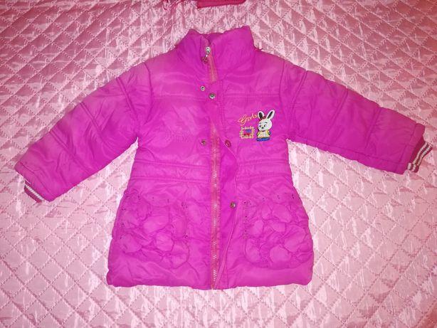 Дешево! Зимняя курточка на синтепоне с начесом!