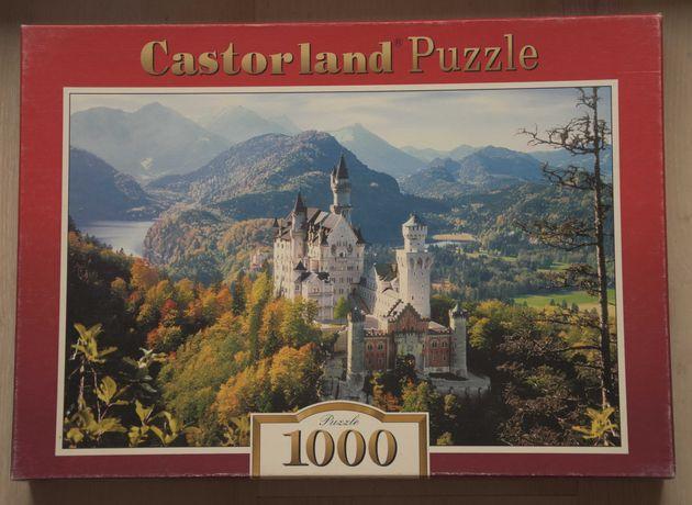 Puzzle Castorland 1000 elementów kompletne