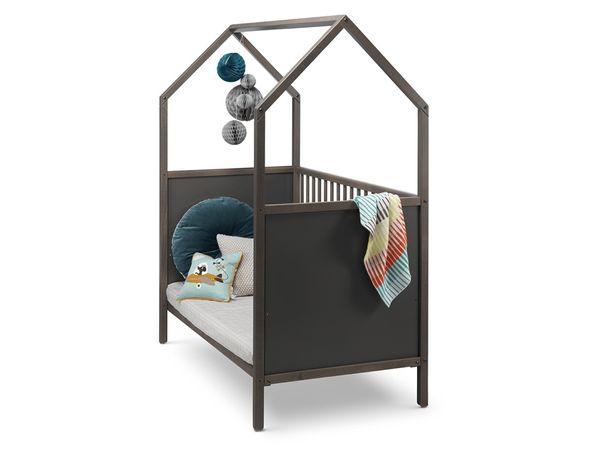 Детская кроватка Stokke Home Bed с матрасом и балдахином