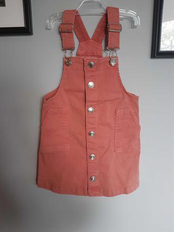 Sukienka/spódniczka ogrodniczka h&m r. 92