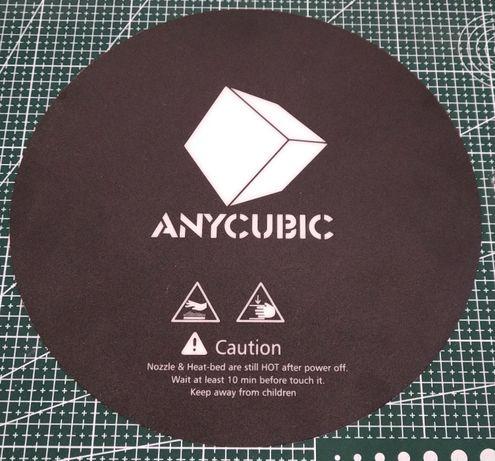 3D принтер, адгезивные наклейки Anycubic на стол D=240мм
