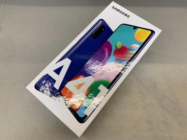 NOWY Nieotwierany SAMSUNG GALAXY A41 64GB Niebieski GSM Wałbrzych