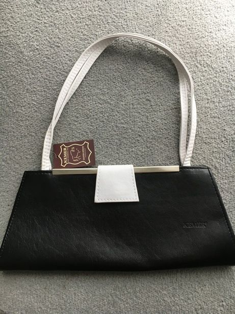 Skórzana torebka Kemer NOWA z metką 5zl wysyłka