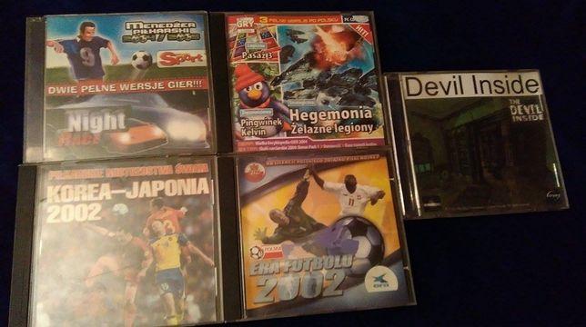 5 płyt z grami! Era futbolu 2002 pełna wersja + gratis 4 płyty z grami