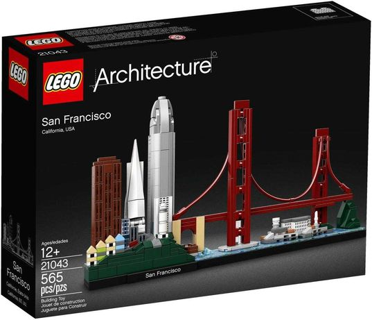 Лего архітектура Сан-Франциско LEGO Architecture архитектура