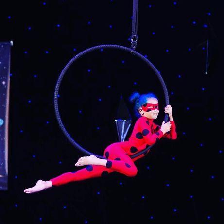 Костюм для воздушной гимнастики леди баг