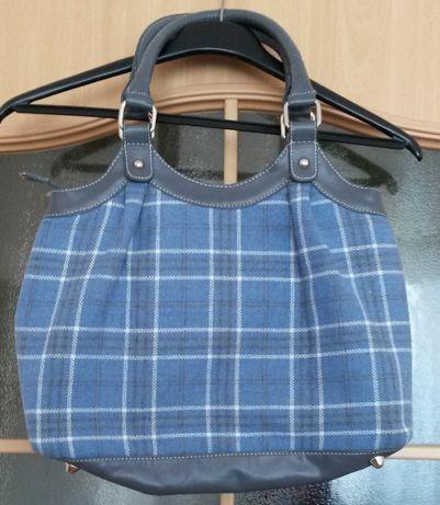 Śliczna w kratkę NOWA torebka torba