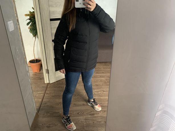 Пуховик 48рр. куртка курточка подовжена