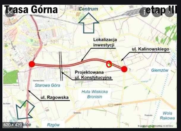 Działka 18500 m2, Łódź (Trasa Górna)