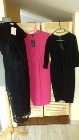 sukienka ciążowa elegancka roz. 36 nowa
