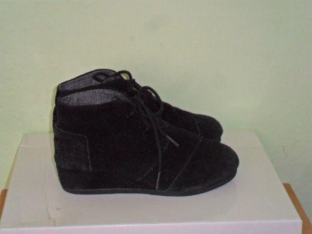 Ботинки кожа Toms р 31