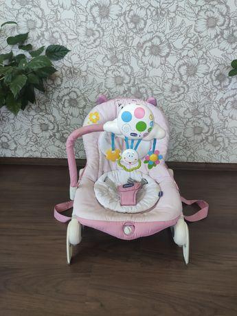 Кресло качалка, укачивающий центр, шезлонг Chicco balloon.