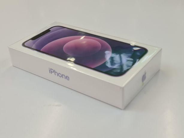 Apple iPhone 12 64 Fioletowy/Purple -nowy, zafoliowany