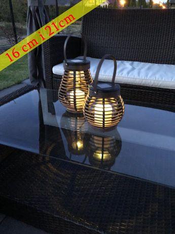 Ogrodowa Lampa solarna LED kpl. zestaw 2 szt.