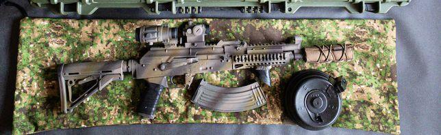 e&l ELAK710 ak SBR 480-490 fps + optyka, 12 magazynów, bateria 11,1