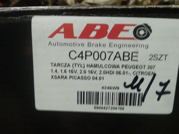 Диск тормозной 2шт. ABE C4P007ABE