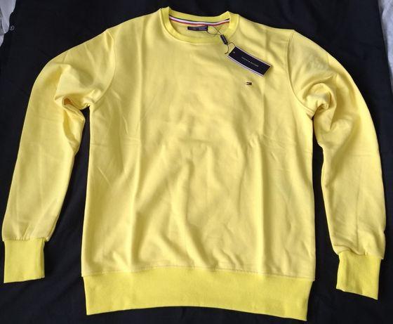 Bluza męska Tommy Hilfiger S żółta