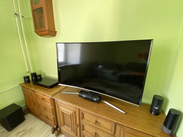 Kino domowe z telewizorem Samsung Curved Smart FullHD