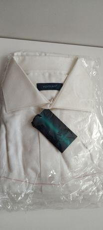 Рубашка белая мужская Venturo, фирменная, как Voronin, Zara, Guess