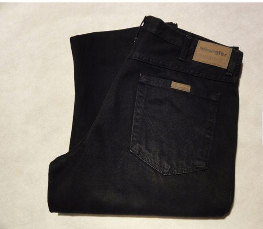 Spodnie WRANGLER W38 L34 czarne