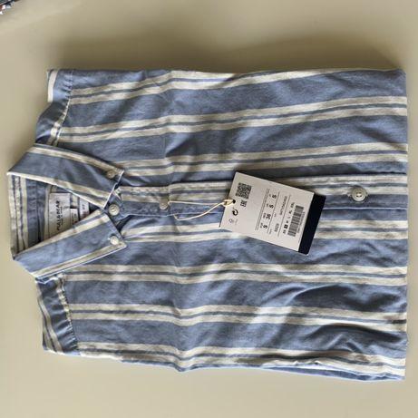Camisa Homem tamanho S, Pull&Bear, COM ETIQUETA