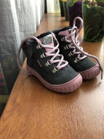 Зимние детские ботинки Geox