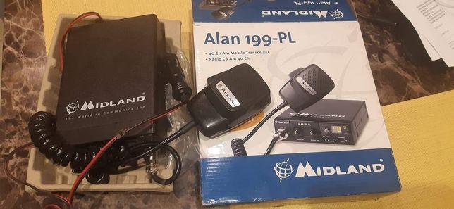 RADIO CB Midland ALAN 199-PL