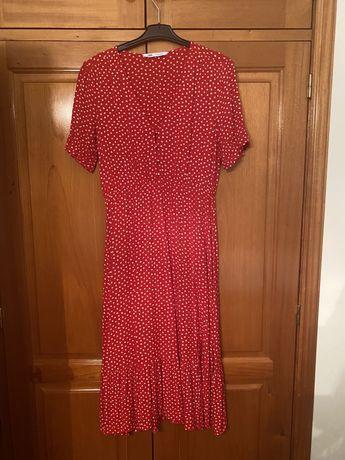 Vestido zara vermelho