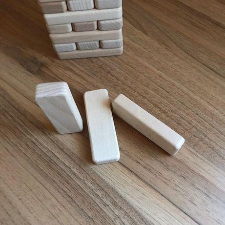 100шт Дерев'янні заготовки Дженга 90x30x14мм - Jenga, Джанга