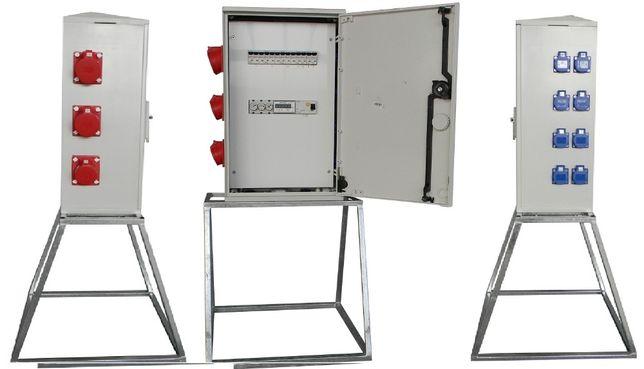 Rozdzielnica elektryczna na stojaku RB40x60-K40-128Z-PL