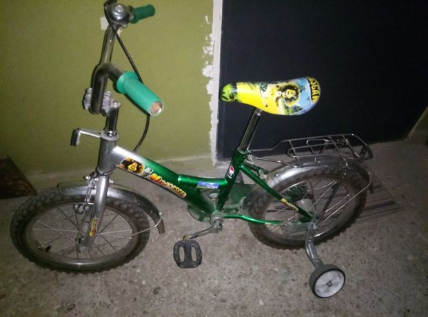 Велосипед Мадагаскар детский