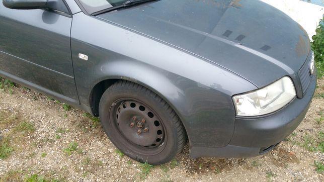PRAWY BŁOTNIK przedni przód Audi a6 c5 lift LX7Z