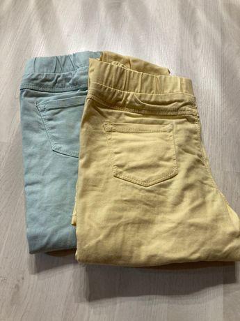 Spodnie długie dla dziewczynki na 10 lat r. 140