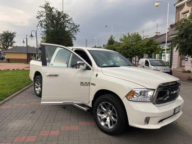 Dodge Ram 1500 Limited -Biała Perła. Auto/samochód do ślubu/na wesele.
