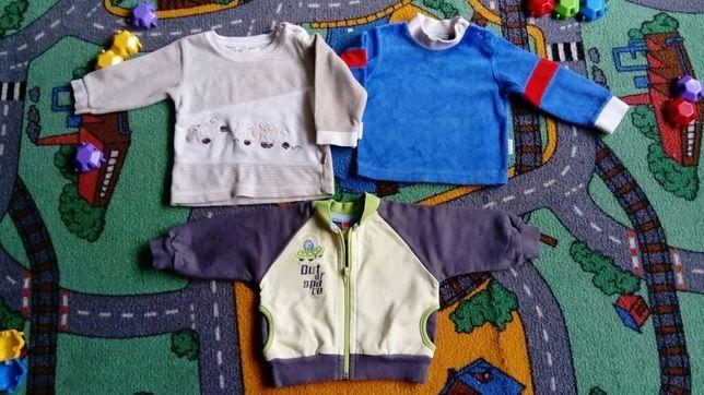 Sweterek, bluza, zestaw rozm. 68 /Markowe - 2be3