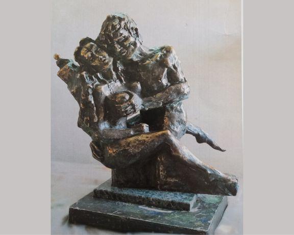 """""""Посвята Родену"""", скульптор В. Гарбуз, бронза"""