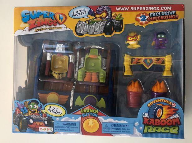 Super Zings Karboom Race Nowe