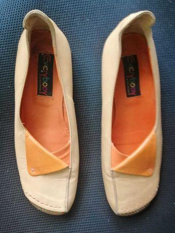 Туфли осенние из мягкой кожи