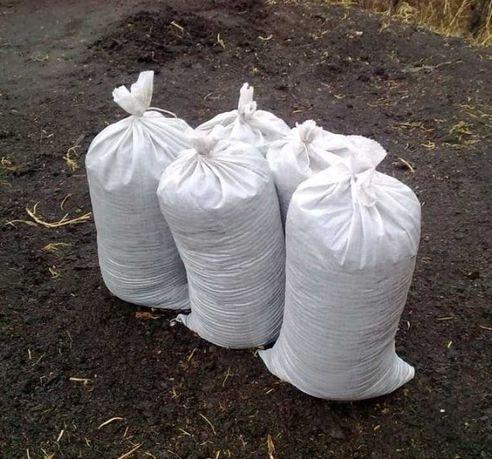 Чернозем земля коровий навоз перегной сыпец торф в мешках и насыпью