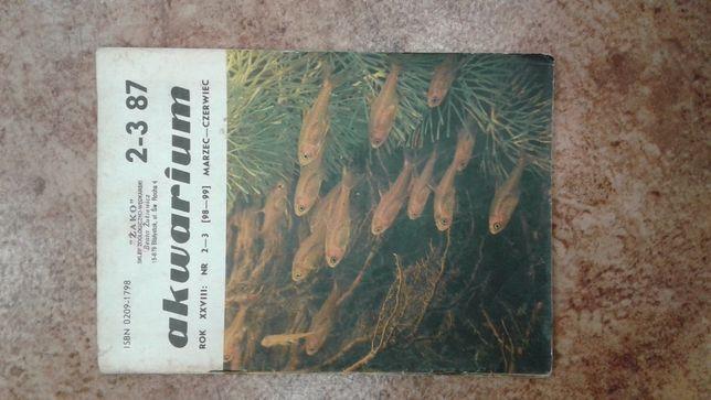 czasopismo akwarium 1987 rok