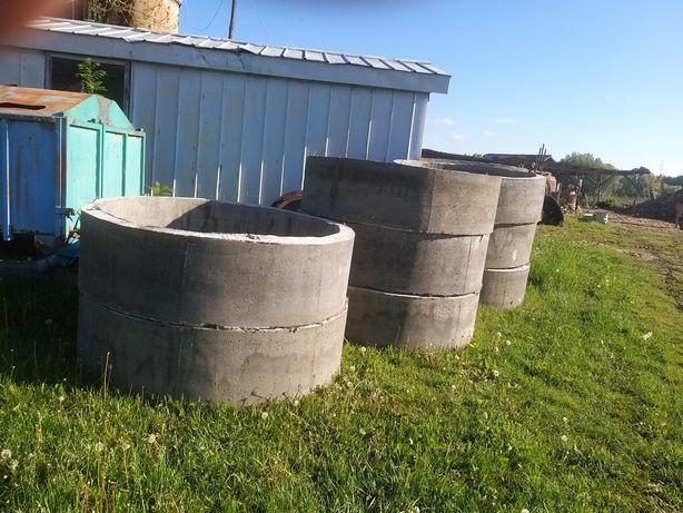 Kręgi betonowe przepusty szambo studnia usługi koparką Mecalac