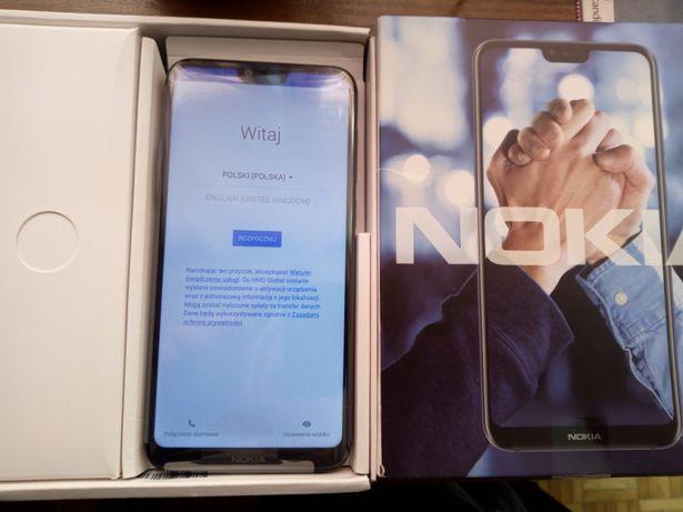 Nokia x6 4/64gb + smartwatch słuchawki bluetooth+ karta 64gb